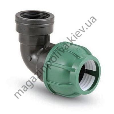 Колено для автополива Irritec 32 мм. х 3/4 ВР