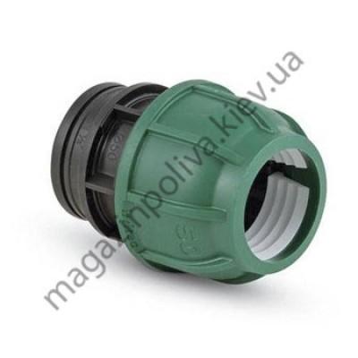 """Муфта для автополива Irritec 40 мм. х 1"""" ВР"""