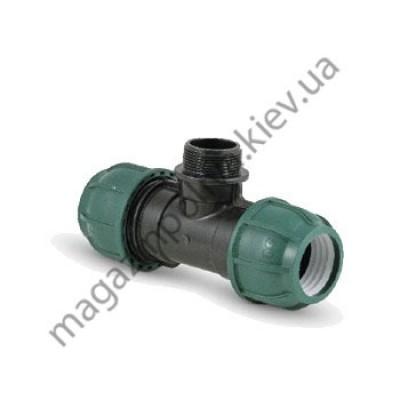 Тройник для автополива Irritec 25 мм х 3/4 НР
