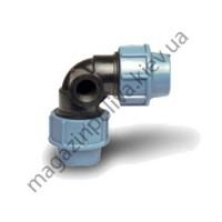 Колено для автополива Unidelta 32 мм х 32 мм х 1/2 ВР