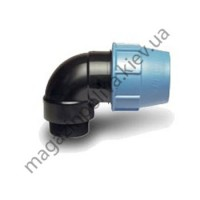 Колено для автополива Unidelta 25 мм х  1/2 НР