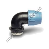 Колено для систем автополива Unidelta 25 мм х 3/4 ВР