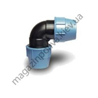 Колено для автополива Unidelta 25 мм х 25 мм