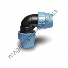 Колено для автополива Unidelta 25 мм х 25 мм х 1/2 ВР