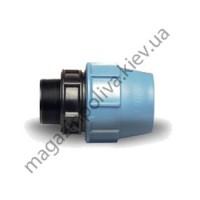 """Муфта для автополива Unidelta 63 мм. х 1 1/2"""" НР"""