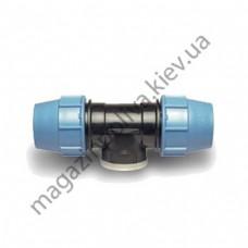 """Тройник для автополива Unidelta 20 мм. х 1/2"""" ВР х 20 мм."""
