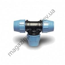 Тройник для автополива Unidelta 20 мм. х 20 мм. х 20 мм.